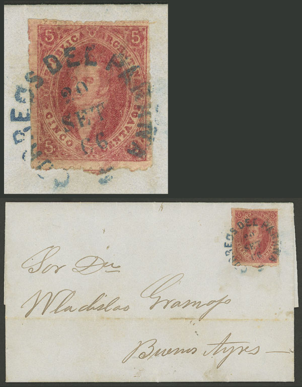 Lot 85 - Argentina rivadavias -  Guillermo Jalil - Philatino Auction # 2007  ARGENTINA: small but very attractive auction