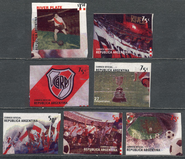 Lot 934 - Argentina general issues -  Guillermo Jalil - Philatino Auction # 2007  ARGENTINA: small but very attractive auction