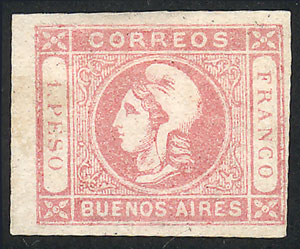 Lot 7 - Argentina buenos aires -  Guillermo Jalil - Philatino Auction # 2007  ARGENTINA: small but very attractive auction