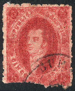 Lot 84 - Argentina rivadavias -  Guillermo Jalil - Philatino Auction # 2008 ARGENTINA: