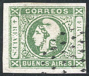 Lot 13 - Argentina cabecitas -  Guillermo Jalil - Philatino Auction # 2008 ARGENTINA: