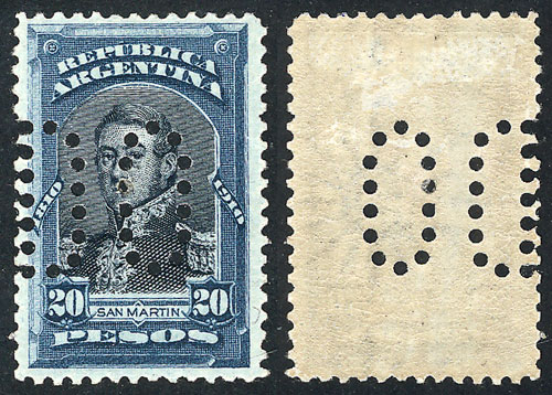 Lot 253 - Argentina general issues -  Guillermo Jalil - Philatino Auction # 2008 ARGENTINA: