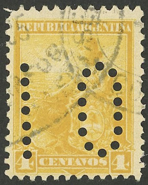 Lot 225 - Argentina general issues -  Guillermo Jalil - Philatino Auction # 2008 ARGENTINA: