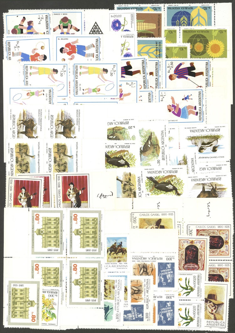 Lot 1233 - Argentina Lots and Collections -  Guillermo Jalil - Philatino Auction # 2008 ARGENTINA: