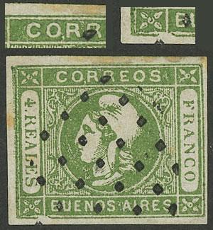 Lot 14 - Argentina cabecitas -  Guillermo Jalil - Philatino Auction # 2008 ARGENTINA: