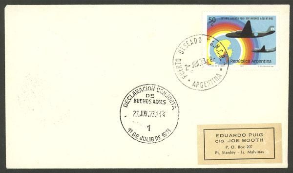 Lot 1188 - argentine antarctica postal history -  Guillermo Jalil - Philatino Auction # 2008 ARGENTINA: