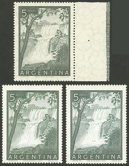 Lot 593 - Argentina general issues -  Guillermo Jalil - Philatino Auction # 2008 ARGENTINA: