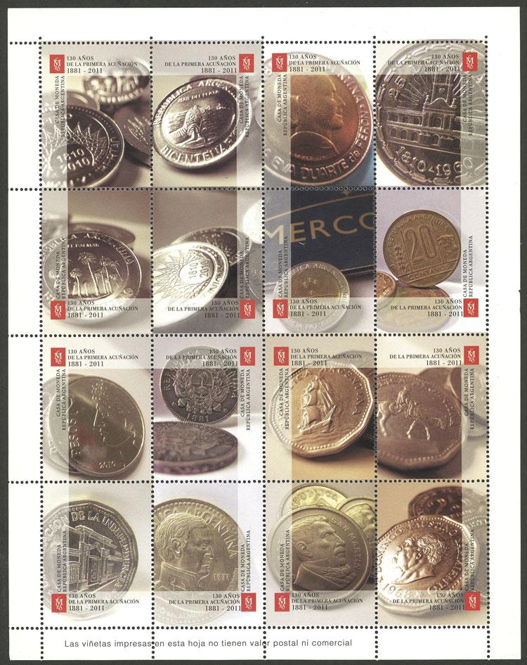 Lot 1244 - Argentina cinderellas -  Guillermo Jalil - Philatino Auction # 2008 ARGENTINA: