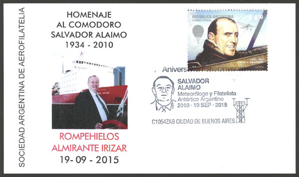 Lot 1211 - Argentina postal history -  Guillermo Jalil - Philatino Auction # 2008 ARGENTINA:
