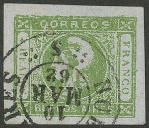Lot 15 - Argentina cabecitas -  Guillermo Jalil - Philatino Auction # 2008 ARGENTINA:
