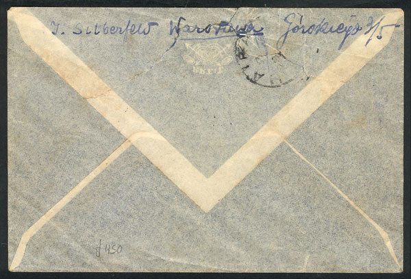 Lot 886 - Poland postal history -  Guillermo Jalil - Philatino Auction # 2009 WORLDWIDE + ARGENTINA: First general auction of the year!