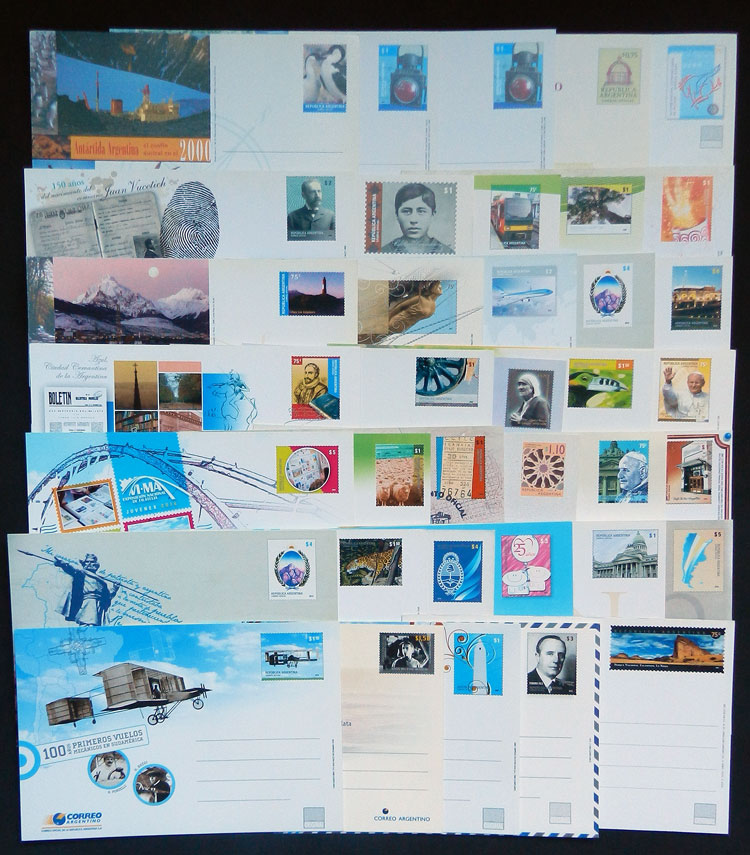 Lot 325 - Argentina postal stationeries -  Guillermo Jalil - Philatino Auction # 2009 WORLDWIDE + ARGENTINA: First general auction of the year!