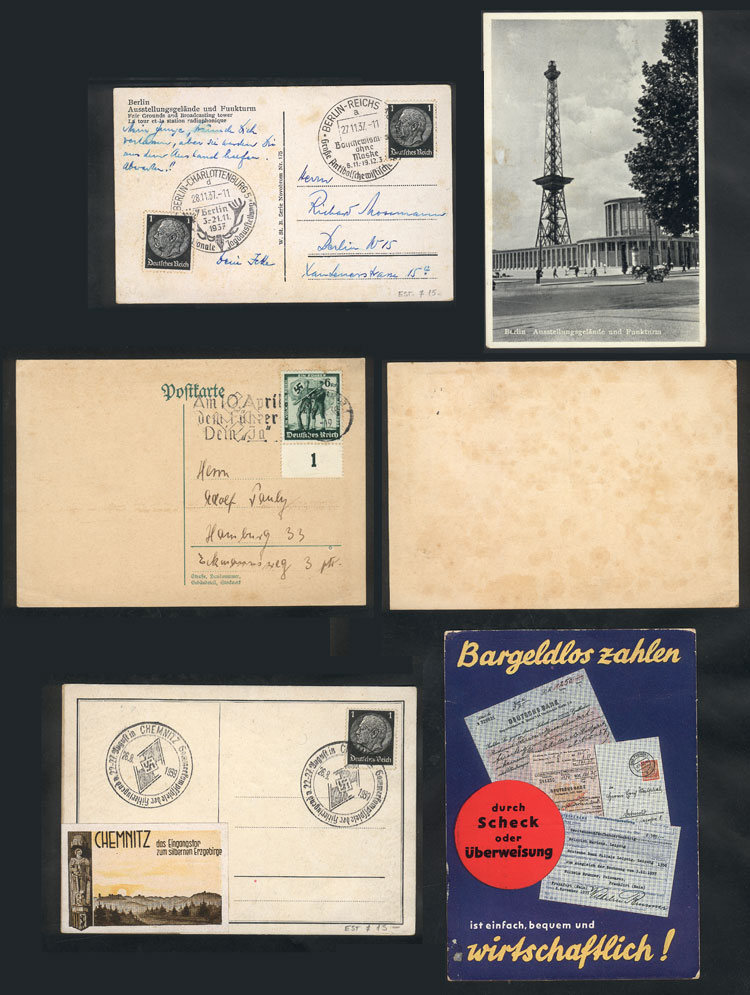 Lot 13 - germany postal history -  Guillermo Jalil - Philatino Auction # 2009 WORLDWIDE + ARGENTINA: First general auction of the year!