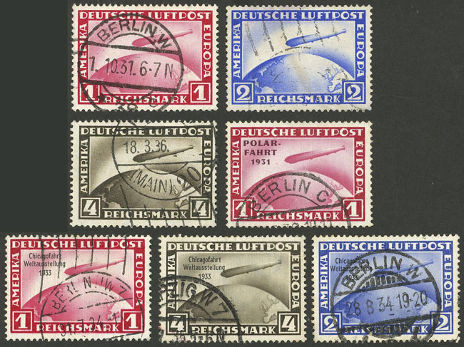 Lot 7 - germany airmail -  Guillermo Jalil - Philatino Auction # 2009 WORLDWIDE + ARGENTINA: First general auction of the year!