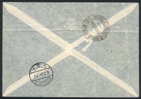 Lot 27 - germany postal history -  Guillermo Jalil - Philatino Auction # 2009 WORLDWIDE + ARGENTINA: First general auction of the year!