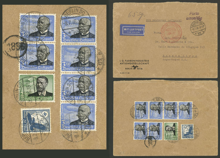 Lot 52 - germany postal history -  Guillermo Jalil - Philatino Auction # 2009 WORLDWIDE + ARGENTINA: First general auction of the year!