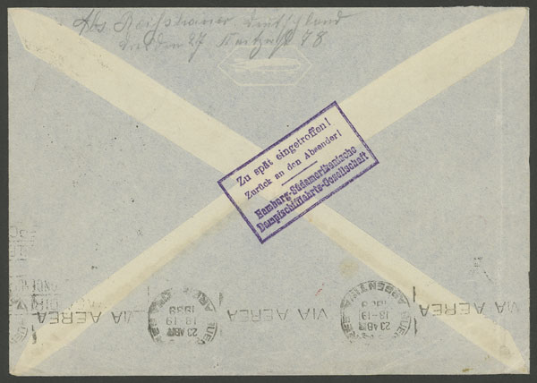 Lot 75 - germany postal history -  Guillermo Jalil - Philatino Auction # 2009 WORLDWIDE + ARGENTINA: First general auction of the year!