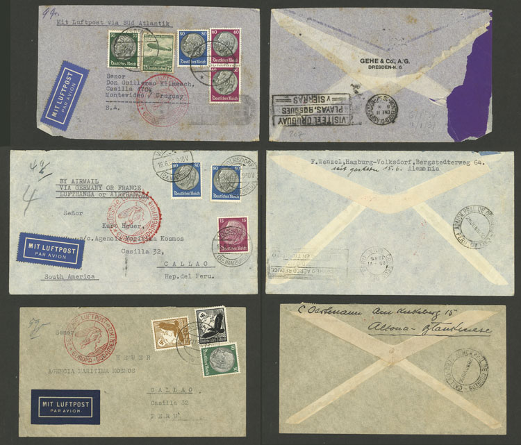 Lot 23 - germany postal history -  Guillermo Jalil - Philatino Auction # 2009 WORLDWIDE + ARGENTINA: First general auction of the year!