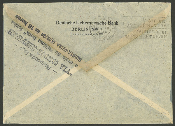 Lot 38 - germany postal history -  Guillermo Jalil - Philatino Auction # 2009 WORLDWIDE + ARGENTINA: First general auction of the year!