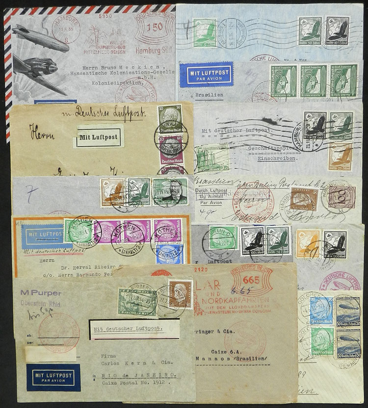 Lot 22 - germany postal history -  Guillermo Jalil - Philatino Auction # 2009 WORLDWIDE + ARGENTINA: First general auction of the year!