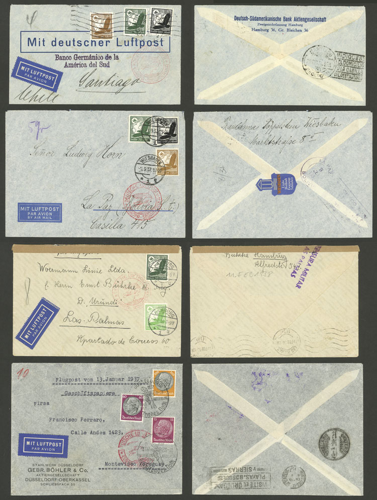 Lot 24 - germany postal history -  Guillermo Jalil - Philatino Auction # 2009 WORLDWIDE + ARGENTINA: First general auction of the year!