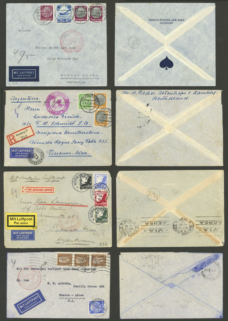 Lot 25 - germany postal history -  Guillermo Jalil - Philatino Auction # 2009 WORLDWIDE + ARGENTINA: First general auction of the year!