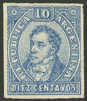Lot 135 - Argentina rivadavias -  Guillermo Jalil - Philatino Auction # 2009 WORLDWIDE + ARGENTINA: First general auction of the year!