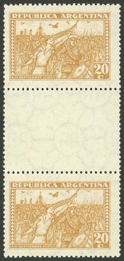 Lot 204 - Argentina general issues -  Guillermo Jalil - Philatino Auction # 2009 WORLDWIDE + ARGENTINA: First general auction of the year!