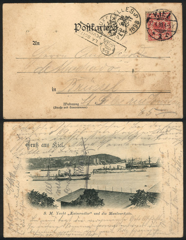 Lot 9 - germany postal history -  Guillermo Jalil - Philatino Auction # 2009 WORLDWIDE + ARGENTINA: First general auction of the year!