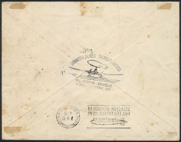 Lot 233 - Argentina airmail -  Guillermo Jalil - Philatino Auction # 2009 WORLDWIDE + ARGENTINA: First general auction of the year!
