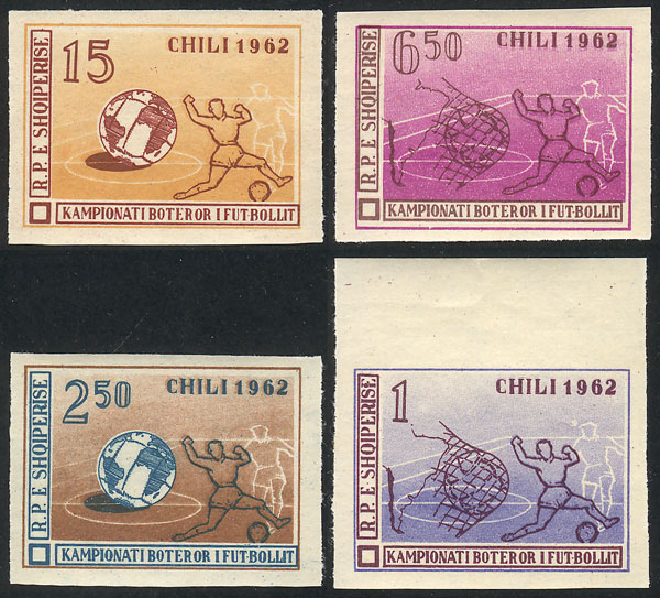 Lot 3 - Albania general issues -  Guillermo Jalil - Philatino Auction # 2009 WORLDWIDE + ARGENTINA: First general auction of the year!