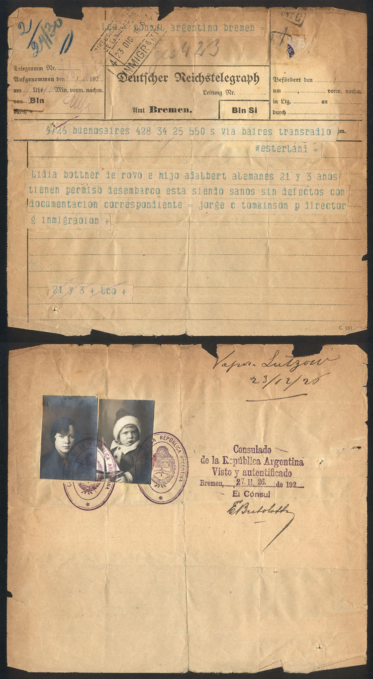 Lot 15 - germany postal history -  Guillermo Jalil - Philatino Auction # 2009 WORLDWIDE + ARGENTINA: First general auction of the year!
