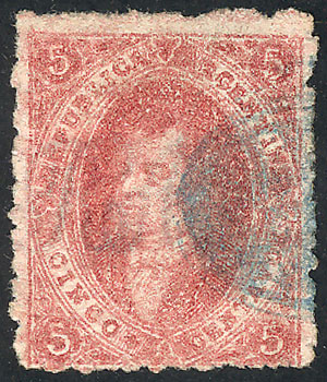 Lot 127 - Argentina rivadavias -  Guillermo Jalil - Philatino Auction # 2009 WORLDWIDE + ARGENTINA: First general auction of the year!