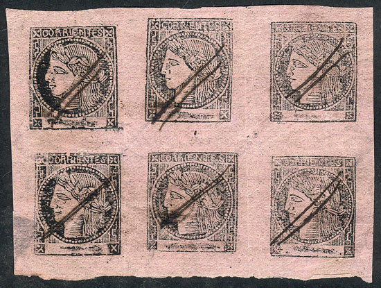Lot 19 - Argentina corrientes -  Guillermo Jalil - Philatino Auction # 2010 ARGENTINA: Small special sale with good lots!