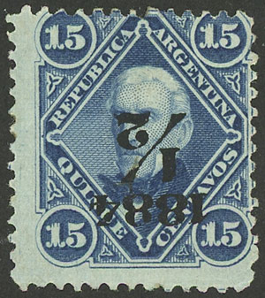 Lot 67 - Argentina general issues -  Guillermo Jalil - Philatino Auction # 2010 ARGENTINA: Small special sale with good lots!