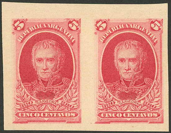 Lot 123 - Argentina general issues -  Guillermo Jalil - Philatino Auction # 2010 ARGENTINA: Small special sale with good lots!