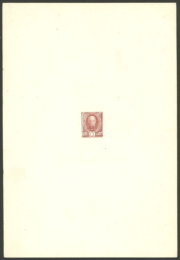 Lot 86 - Argentina general issues -  Guillermo Jalil - Philatino Auction # 2010 ARGENTINA: Small special sale with good lots!