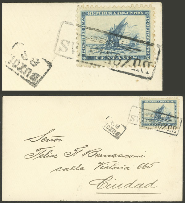 Lot 92 - Argentina general issues -  Guillermo Jalil - Philatino Auction # 2010 ARGENTINA: Small special sale with good lots!