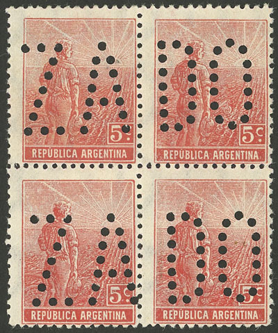 Lot 126 - Argentina general issues -  Guillermo Jalil - Philatino Auction # 2010 ARGENTINA: Small special sale with good lots!