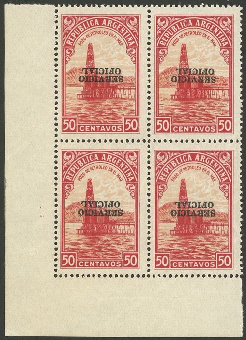 Lot 188 - Argentina official stamps -  Guillermo Jalil - Philatino Auction # 2010 ARGENTINA: Small special sale with good lots!