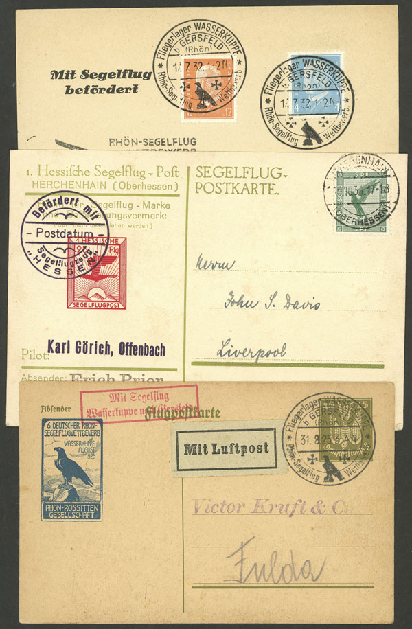 Lot 17 - germany postal history -  Guillermo Jalil - Philatino Auction # 2014 WORLDWIDE + ARGENTINA: Selection of good covers, postcards and more!