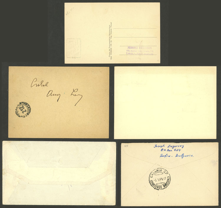 Lot 2 - topic aviation postal history -  Guillermo Jalil - Philatino Auction # 2014 WORLDWIDE + ARGENTINA: Selection of good covers, postcards and more!