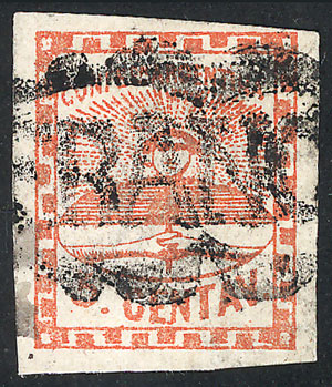 Lot 25 - Argentina confederation -  Guillermo Jalil - Philatino Auction # 2015 ARGENTINA: Special auction for the quarantine