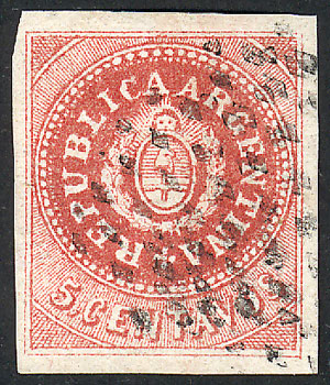 Lot 45 - Argentina escuditos -  Guillermo Jalil - Philatino Auction # 2015 ARGENTINA: Special auction for the quarantine
