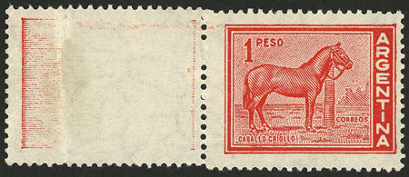 Lot 155 - Argentina general issues -  Guillermo Jalil - Philatino Auction # 2015 ARGENTINA: Special auction for the quarantine