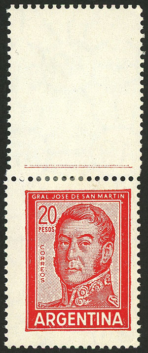 Lot 165 - Argentina general issues -  Guillermo Jalil - Philatino Auction # 2015 ARGENTINA: Special auction for the quarantine
