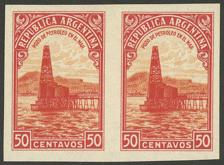 Lot 138 - Argentina general issues -  Guillermo Jalil - Philatino Auction # 2015 ARGENTINA: Special auction for the quarantine