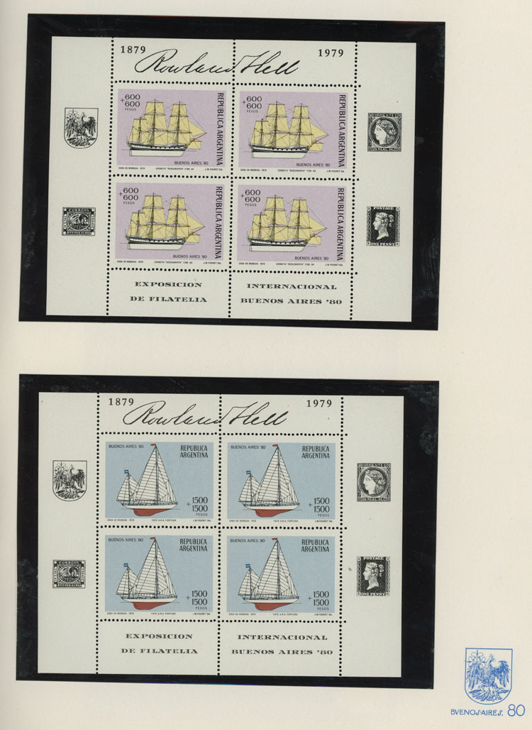 Lot 809 - Argentina other items -  Guillermo Jalil - Philatino Auction # 2016 ARGENTINA: great auction with very interesting lots, low starts!