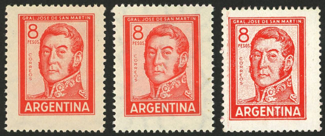 Lot 393 - Argentina general issues -  Guillermo Jalil - Philatino Auction # 2016 ARGENTINA: great auction with very interesting lots, low starts!