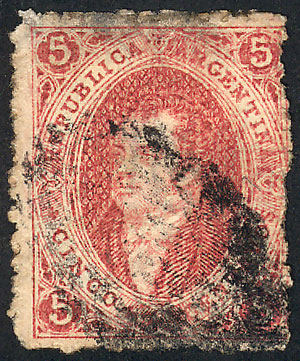 Lot 25 - Argentina rivadavias -  Guillermo Jalil - Philatino Auction # 2016 ARGENTINA: great auction with very interesting lots, low starts!